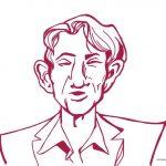 Neon tube: Cornald Maas – @cornaldm ( illustration + caricature ) #opiumavro